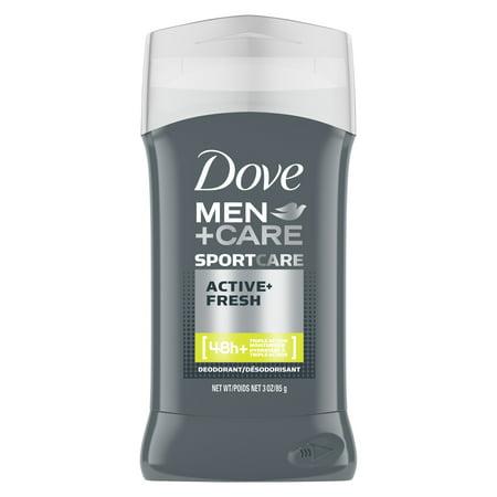 Dove Men+Care Sport Deodorant Stick Active+Fresh 3.0 oz