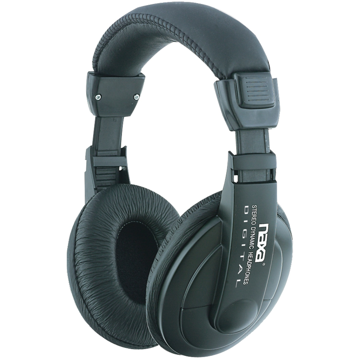 Naxa NE916 Super Bass Professional Digital Stereo Headphones with Volume Control