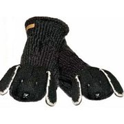 Youth/Adult Lucky The Lab Mittens by Knitwits - A2900