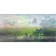 Parvez Taj Distant Meadow Art Print On Premium Canvas