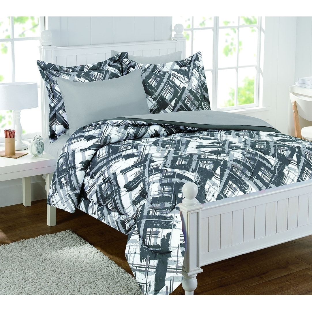 Alex Plaid 7pc Bed in a Bag Set