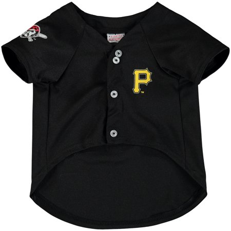 Pirate Skull Baseball Jersey - Pittsburgh Pirates MLB Dog Jersey