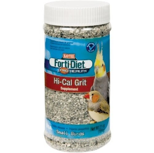 Kaytee Forti-Diet Pro Health Hi-Cal Grit Small Bird Supplement, 1.31 Lb