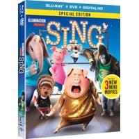 Sing (Blu-ray + DVD)
