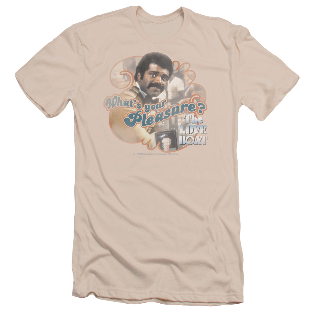 Love Boat Men's  Issac Slim Fit T-shirt Cream
