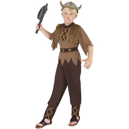 Viking Boy Child Costume - Kid Viking Costume