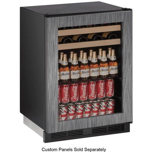 U-Line 1000 Series Reversible 24-inch 5.4 cu. ft. Undercounter Beverage Center