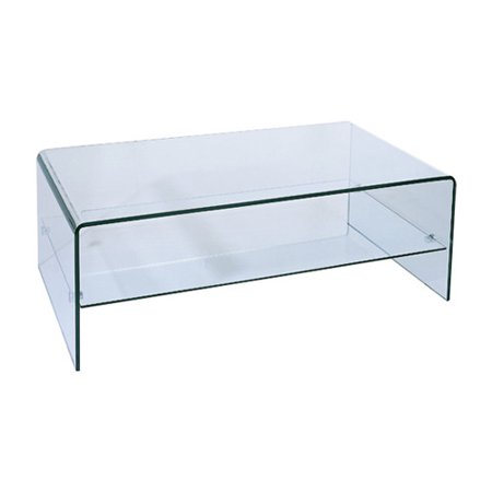 Hokku Designs Ryder Coffee Table With Storage Shelf