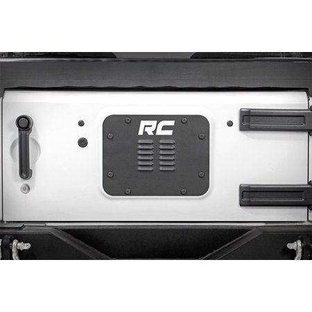 Rough Country Tailgate Vent Fits 2007-2018 [ Jeep ] Wrangler JK 10514 ()