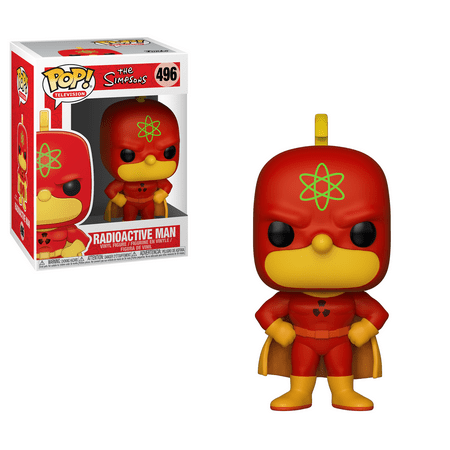Funko POP! Animation: Simpsons S2 - Homer - Radioactive Man (Homer Simpson Radioactive Man)