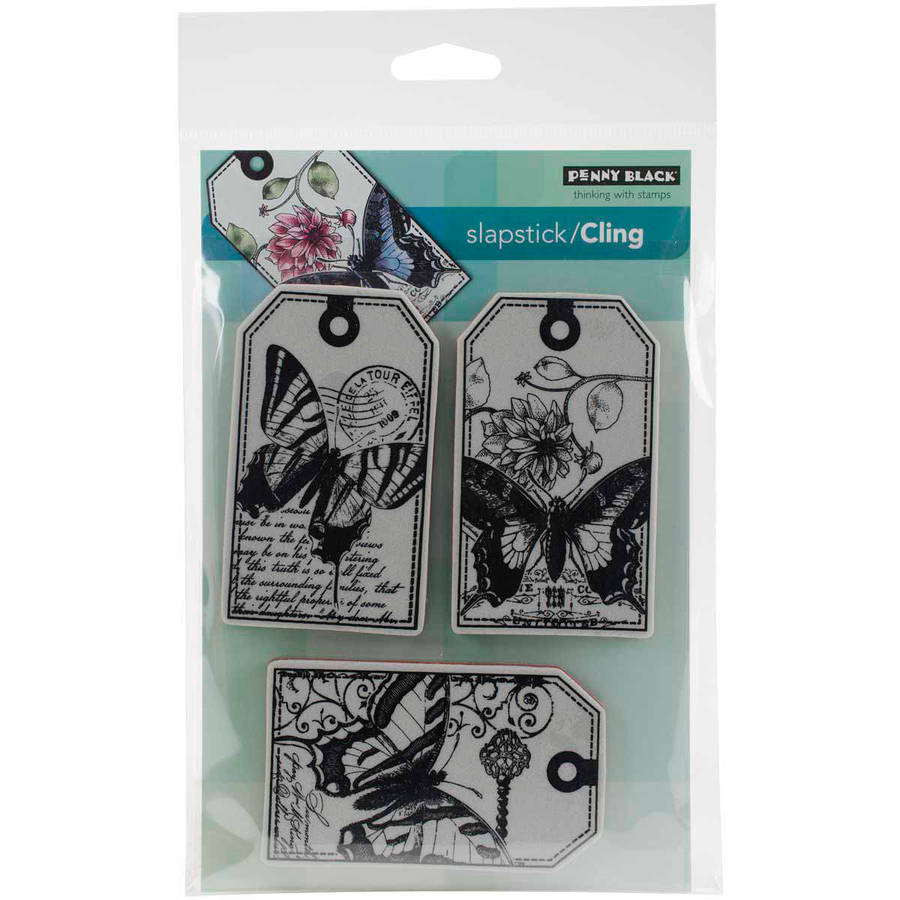 """Penny Black Cling Rubber Stamp, 5"""" x 6.5"""" Sheet"""