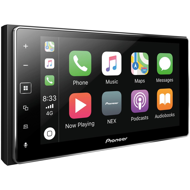 "Pioneer MVH-1400NEX 6.2"" Double-Din In-Dash Digital Media & A/V Receiver With Bluetooth, Apple Carplay Compatible & SiriusXM Ready"