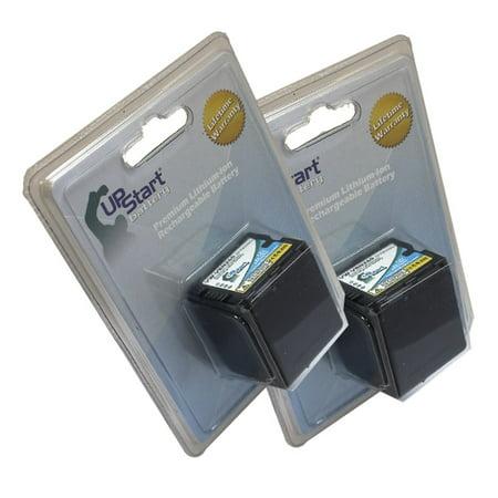 2x Pack - Panasonic VW-VBN260 Decoded Battery - Replacement for Panasonic VW-VBN130 Digital Camera Battery (3200mAh, 7.2V, Lithium-Ion) - image 2 de 2