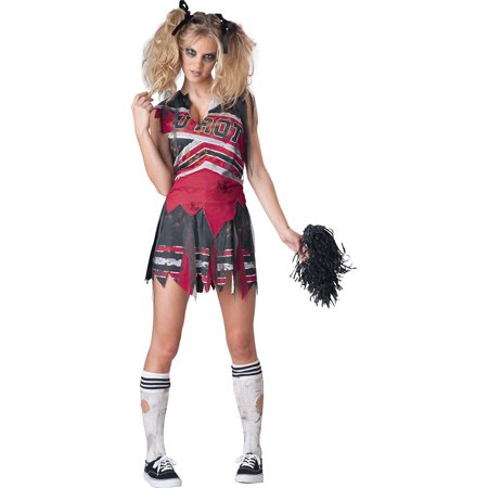 Ideas For Zombie Costumes (Spiritless Zombie Cheerleader Costume Adult)