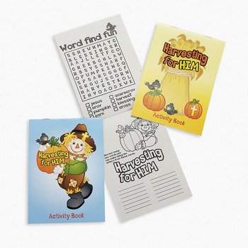 Fall Inspirations Harvest Activity Pads - Sunday School & - Fall Stationery