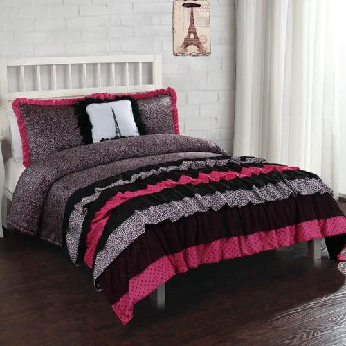 Bed Threads Leigh Ann Ruffle Comforter Set