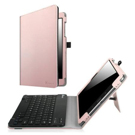 15296409930 Fintie Asus ZenPad 3S 10 Z500M / ZenPad Z10 ZT500KL Keyboard Case - Folio  Stand Cover w/ Bluetooth Keyboard, Rose Gold - Walmart.com