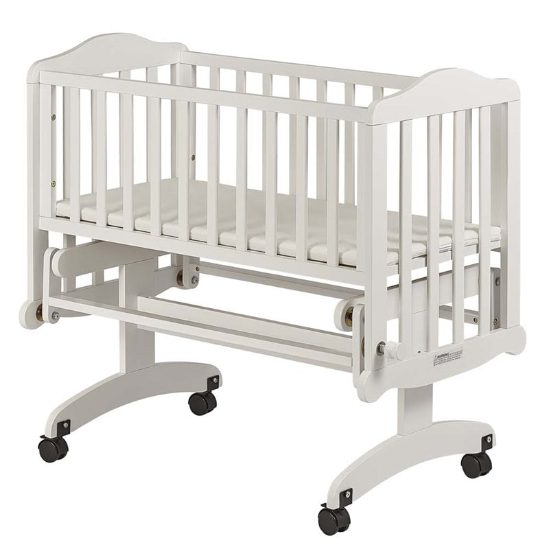 Me Lullaby Cradle Glider White, Dream On Me Cradle Bedding
