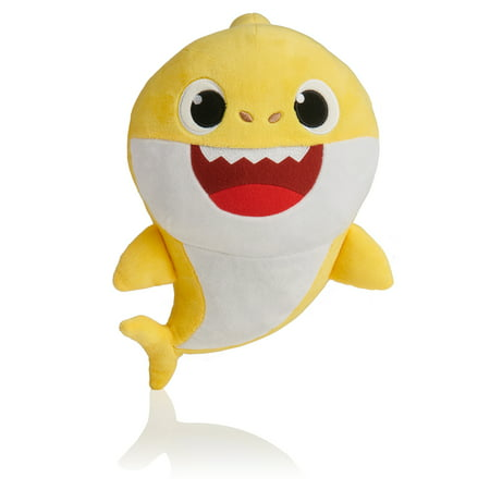 Pinkfong Baby Shark Official Song Doll - Baby Shark - By - Cat In The Hat Toy