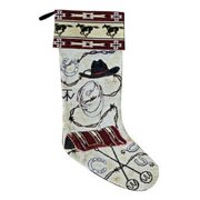Western Christmas Stocking