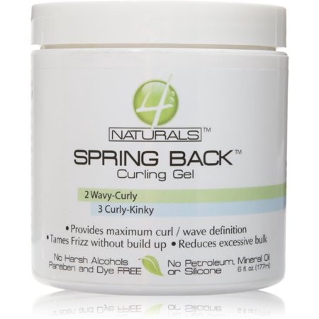 Bronner 4naturals Spring Back Curling Custard Ge