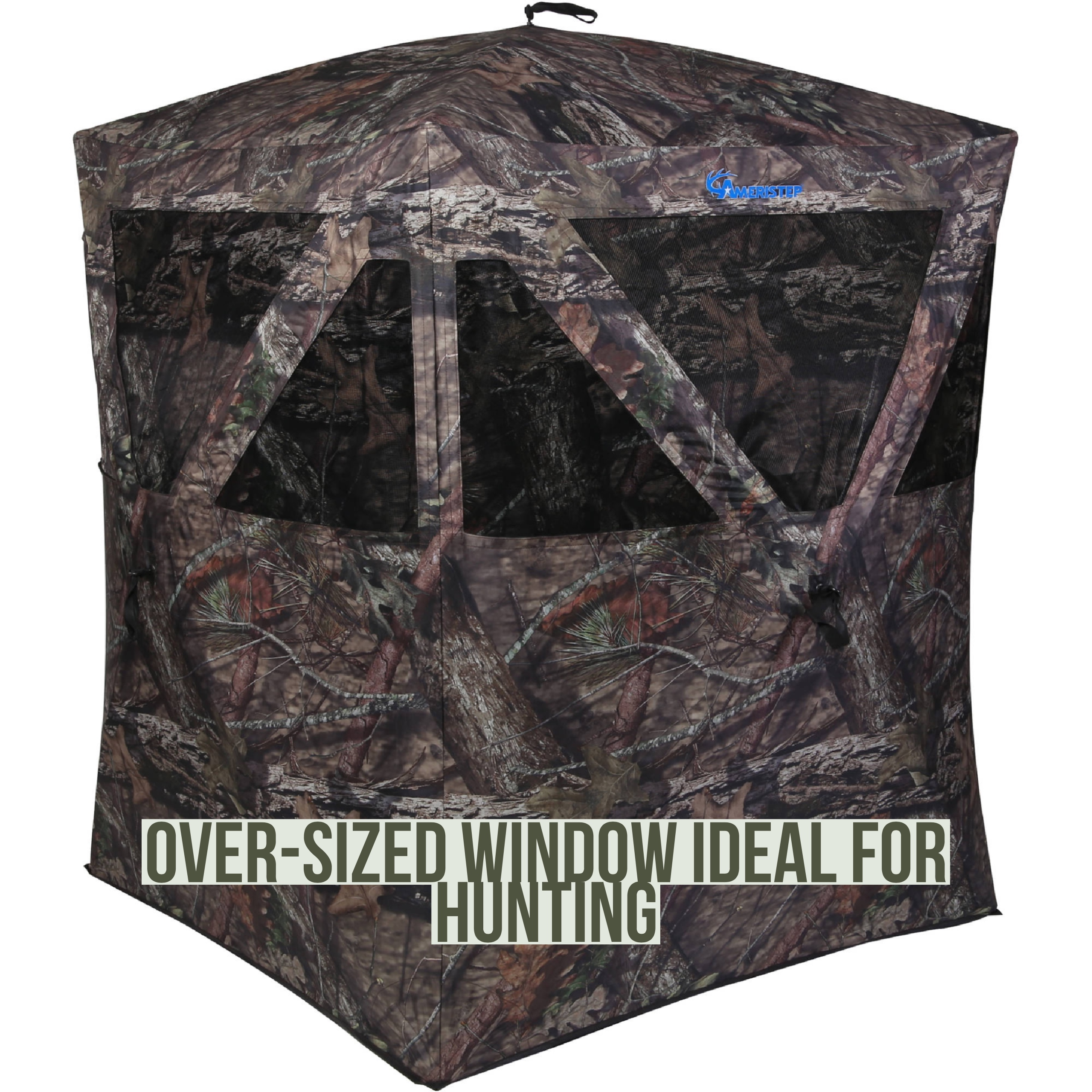 Ameristep Backwoods Hunting Blind, Mossy Oak Camouflage