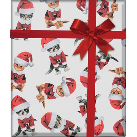 Kitty Cat Christmas / Special Occasion Gift Wrap Wrapping Paper-16ft