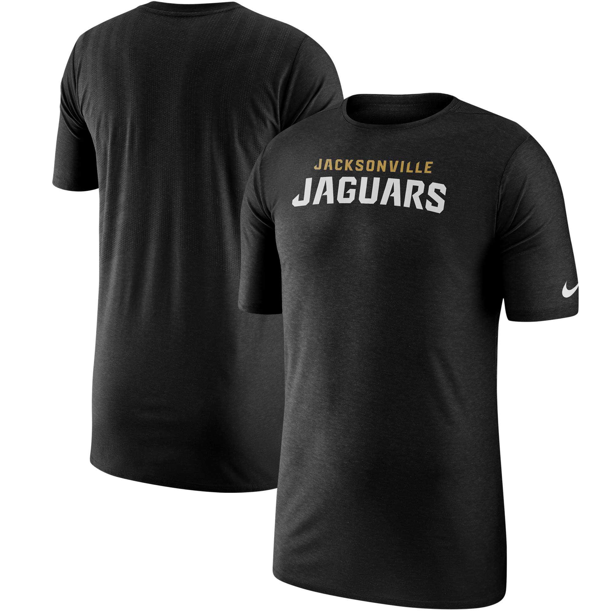 Jacksonville Jaguars Nike Sideline Player T-Shirt - Black