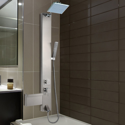 Great AKDY Rainfall Shower Panel Tower Diverter/Thermostatic