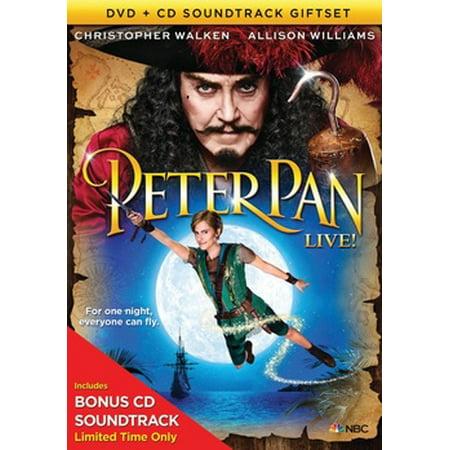 Peter Pan Live (DVD + CD) (Peter Pan 2 Return To Neverland Soundtrack)