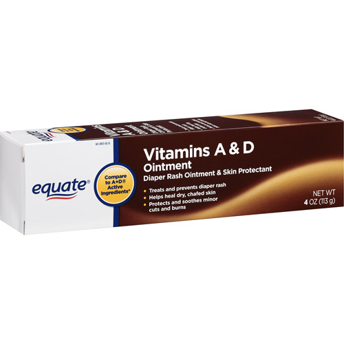Equate Vitamins A & D Ointment 4 oz