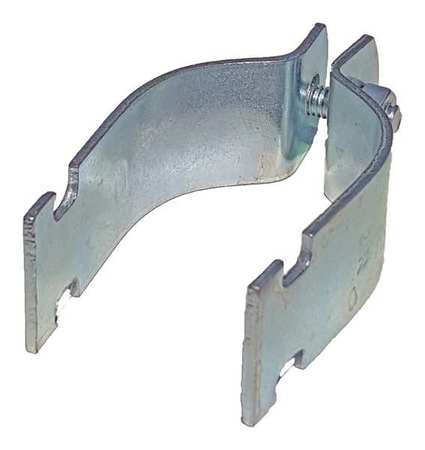 THOMAS & BETTS 703-3/4EG Channel Universal Pipe Strap, 3/4 In, PK10