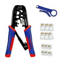 Deals on WORKPRO RJ45 Crimping Tool Kit RJ Ratcheting Crimper 30pcs