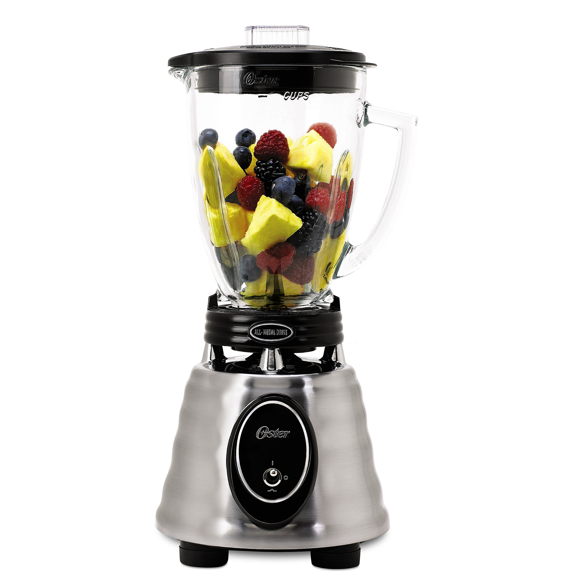 Oster Heritage Blend 400 Blender Brushed Stainless, BPCT02-BA0-NP0