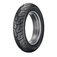 Dunlop D401 Rear Motorcycle Tire 150/80B-16 (71H) Black Wall for Harley-Davidson Softail Springer FXSTS 2004-2005