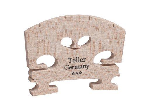 9140-44 Teller Semi Fitted Violin Bridge, Aubert Teller Germany Semi-Fitted Violin Bridge... by