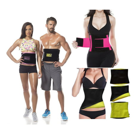ade641e987bad Thermo Neoprene Gym Waist Trainer Belt Ultra Sweat Body Shaper Slimming Belt  Belly Wrap - Trimmer