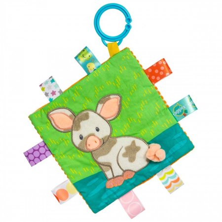 Crinkle Me Patches Pig (Taggies) - Stuffed Animals by Mary Meyer (40036)
