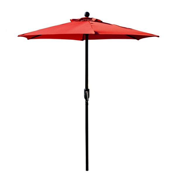 Patio Umbrella Outdoor Table, Red Patio Table Umbrella