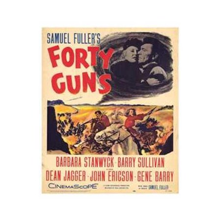 Forty Guns (Posterazzi MOV193251 Forty Guns Movie Poster - 11 x 17 in.)