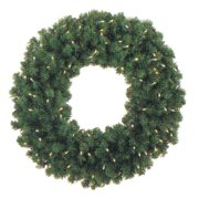 36 in. Pre-lit Commercial Grade Christmas Wreath