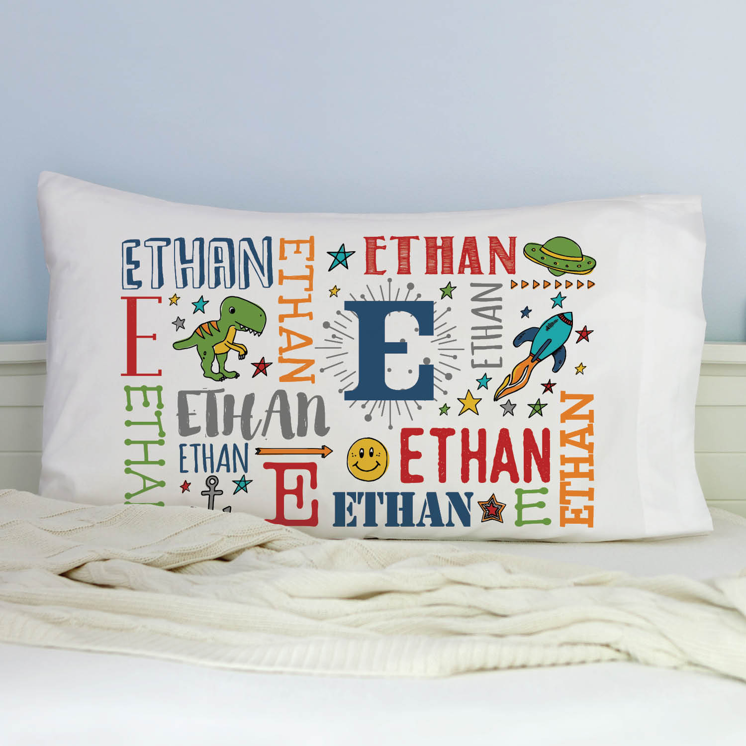 personalized video game pillowcase