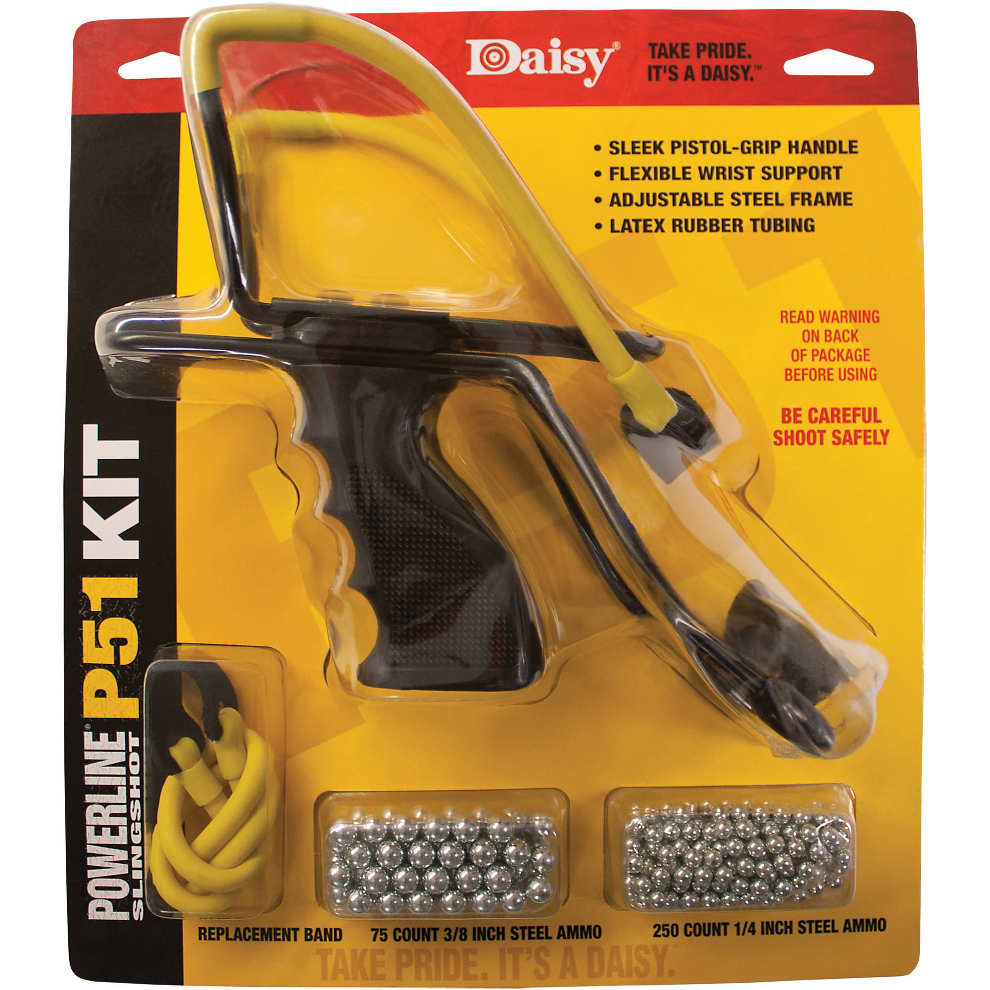 Click here to buy Daisy P51 Slingshot Kit by Daisy.