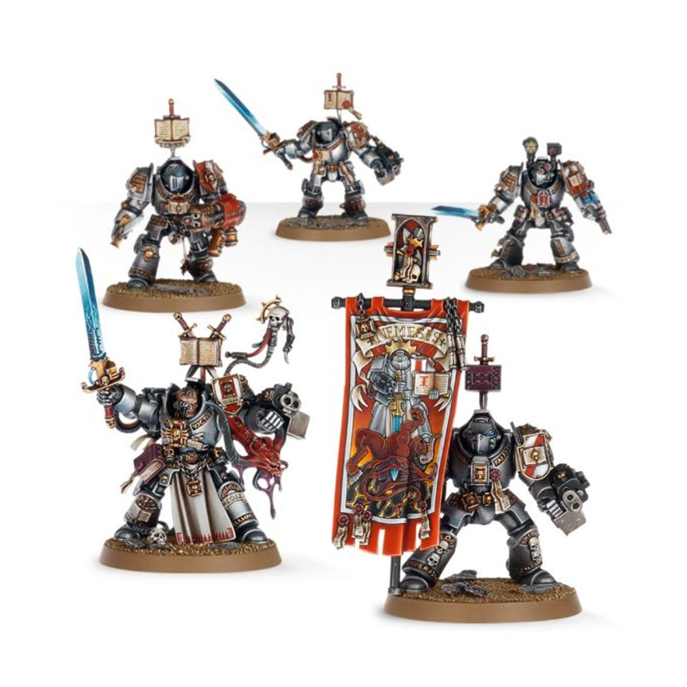 Grey Knights Paladin Squad Warhammer 40,000 Plastic Model Set by Games Workshop