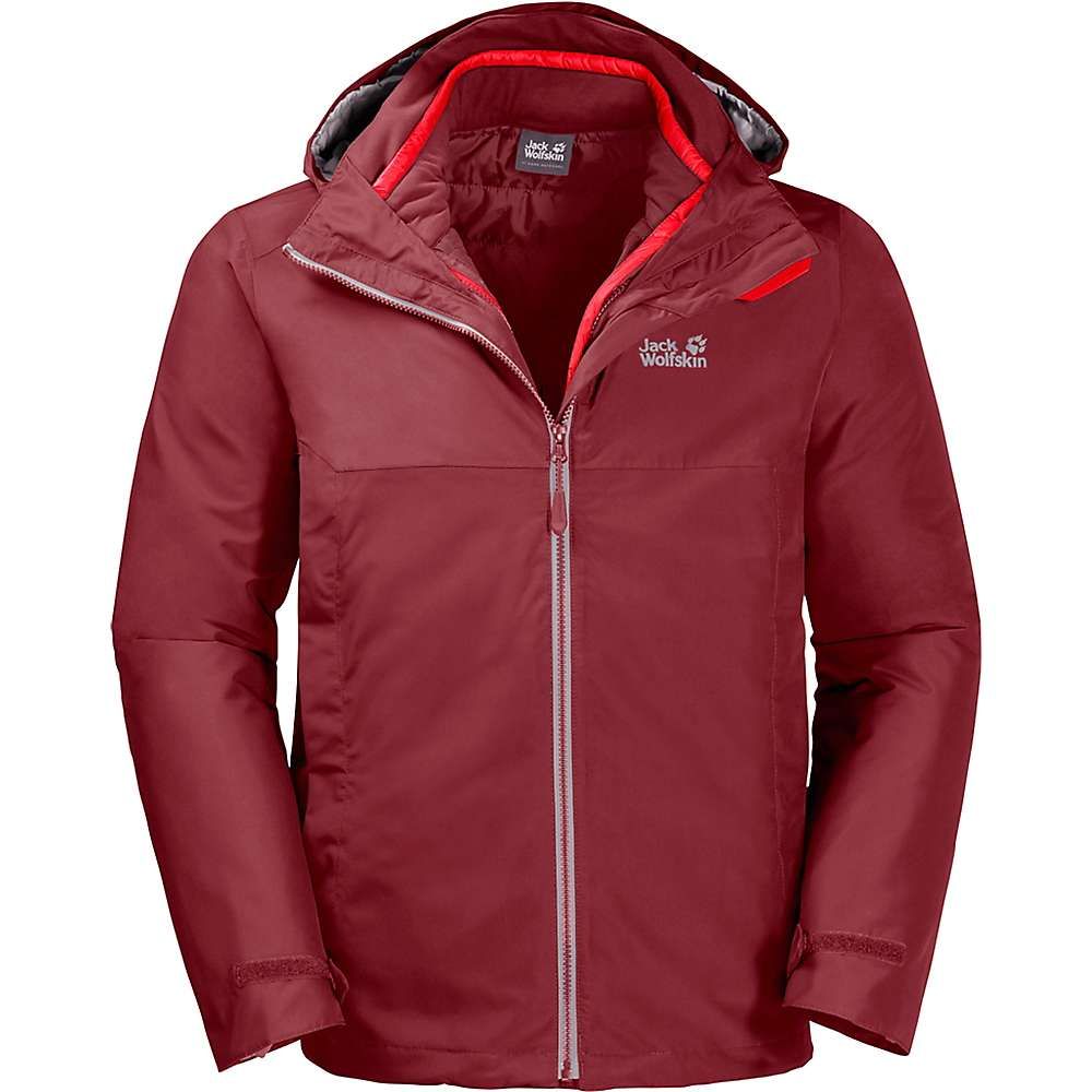 Jack Wolfskin Men's North Fjord 3 in 1 Jacket