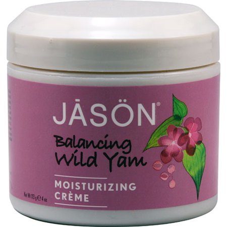 JAS?N Moisturizing Cream, Balancing Wild Yam 70% Organic, 4