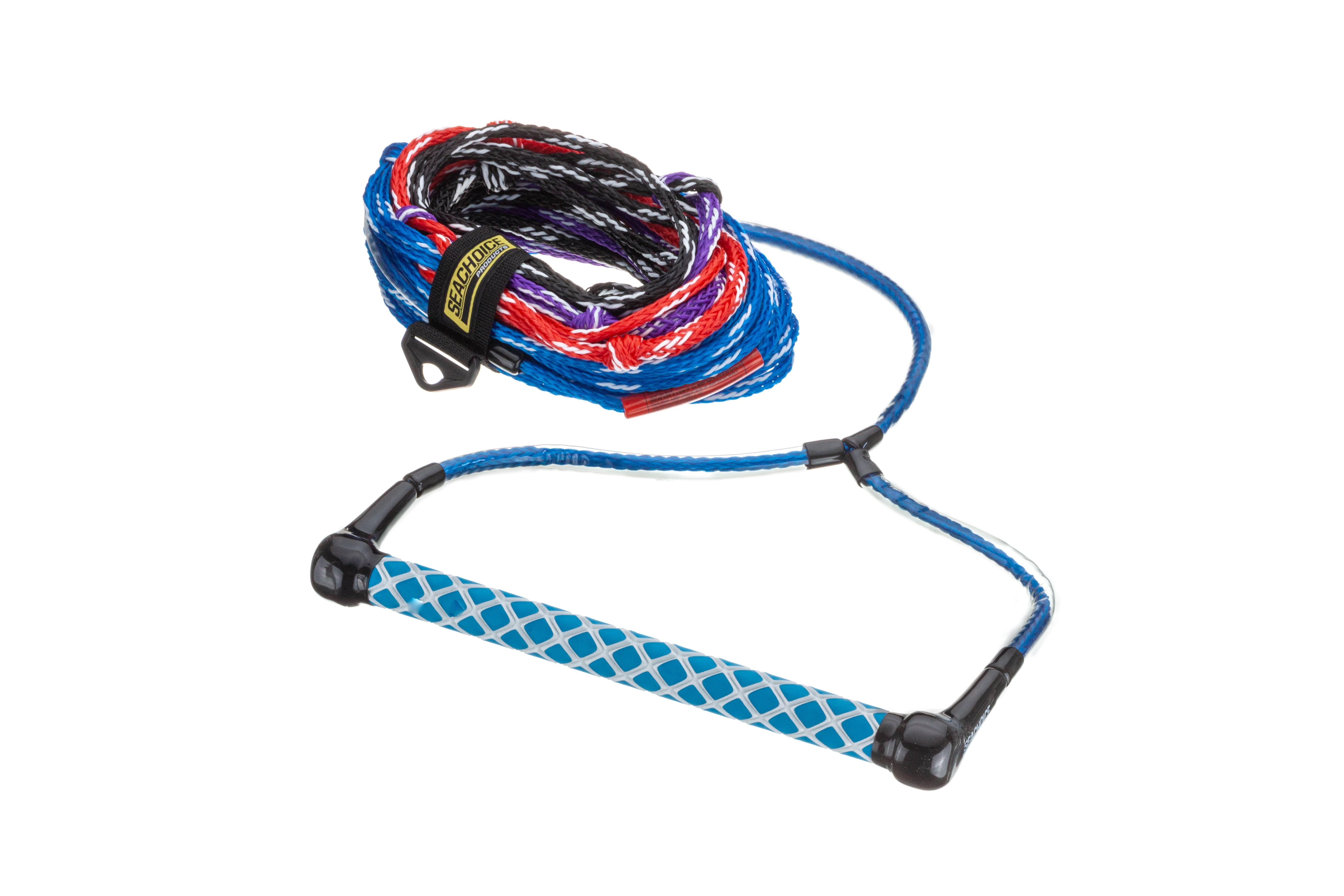 Seachoice Seachoice 86731 Water Ski Rope 75 Feet Long 12 Inch Handle with Rubber Grip