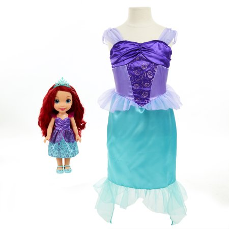 Disney Princess Ariel Toddler Doll and Dress](Male Disney Characters To Dress Up As)