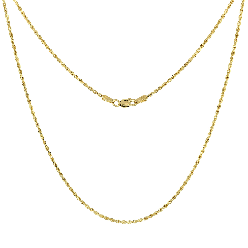 ALARRI 1.5 Carat 14K Solid Gold Love Struck Citrine Necklace with 24 Inch Chain Length