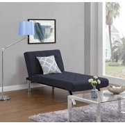 Dhp Emily Futon Modern Chaise Lounger Multiple Colors